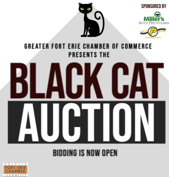 Black Cat Auction On Now through December 4, 2020