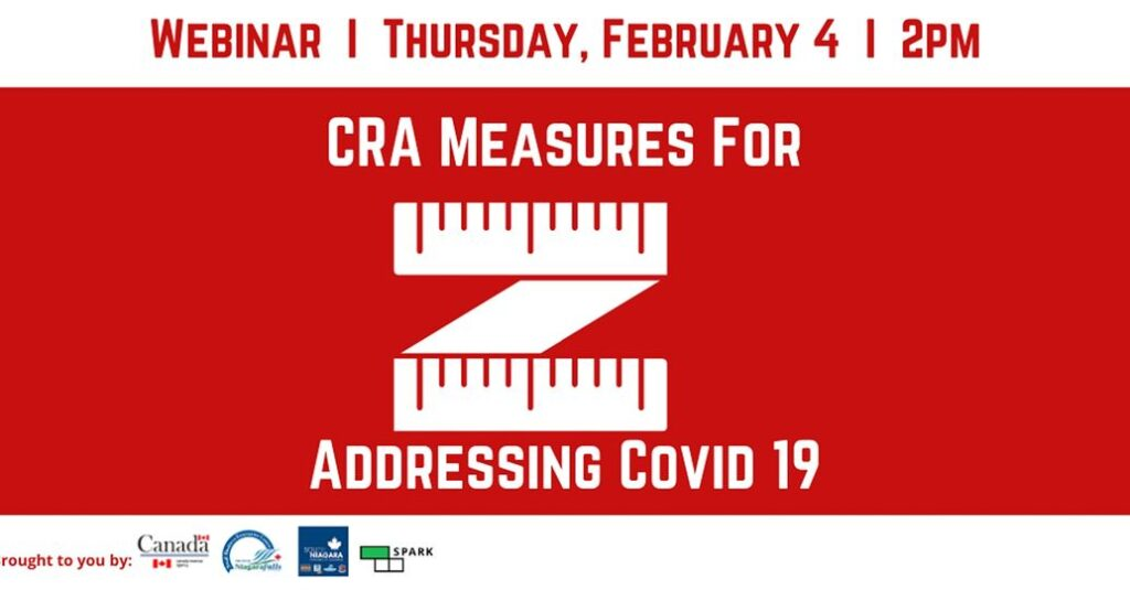 CRA Measures for Addressing Covid 19
